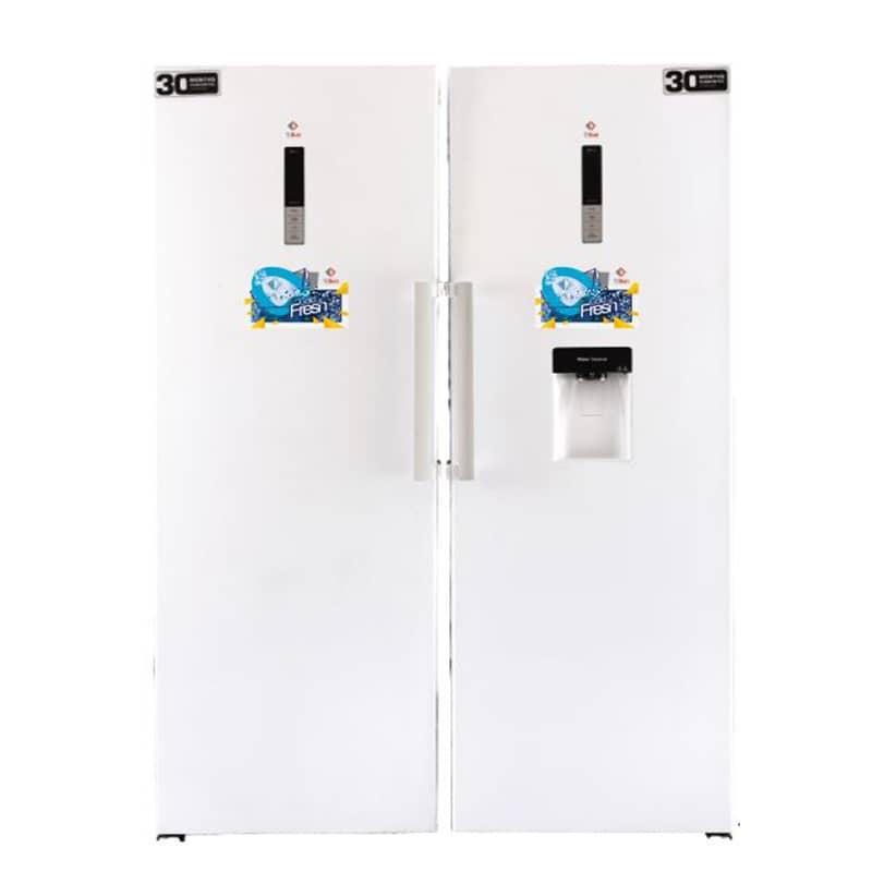 یخچال فریزر دو قلو جی سان